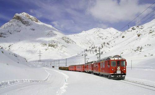 רכבת הקרח לצפייה ישירה
